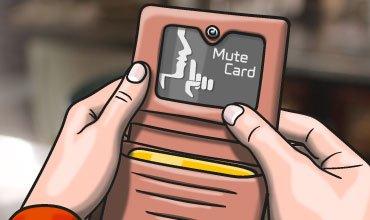 rfid scan blocker card